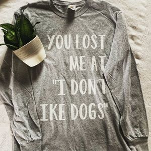 Tops - Dog Lover Long Sleeve